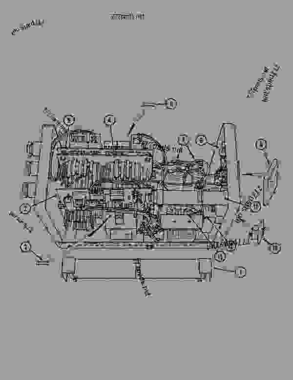 Parts scheme REVERSER ASSEMBLY - CRAWLER DOZERS Case 1088 - CASE EXCAVATOR - ELECTRO-MAGNET (1/88-12/94) 00 COMPLETE MACHINE REVERSER ASSEMBLY | 777parts