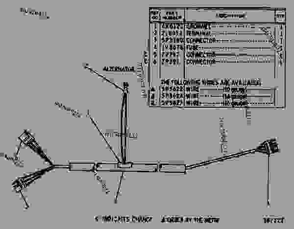 1v8667 Wiring Harness Assembly - Wheel-type Loader Caterpillar 920