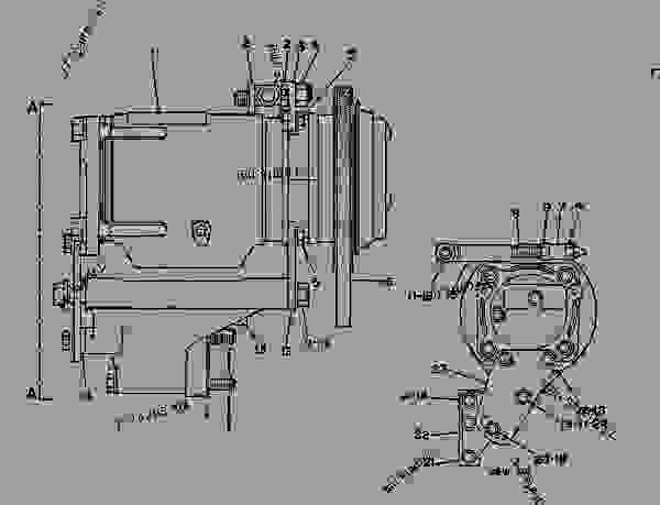 6n5943 compressor group-refrigerant refrigerant compressor group