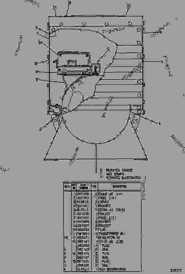 5N9085 GENERATOR GROUP - ENGINE - GENERATOR SET Caterpillar 3208 ...