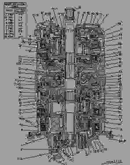 7G0695 PLANETARY GROUP -POWERSHIFT - Caterpillar - POWER