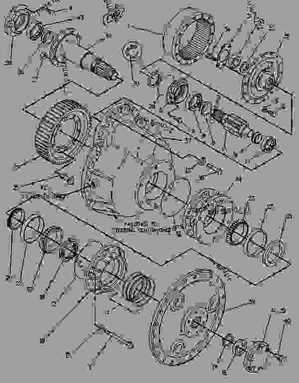 8Y6530 FINAL DRIVE GROUP - TRACK-TYPE TRACTOR Caterpillar