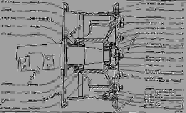 front axle and wheels off highway truck caterpillar 769b 769Electrical System Wiring Diagram Offhighway Truck Caterpillar 769b #8