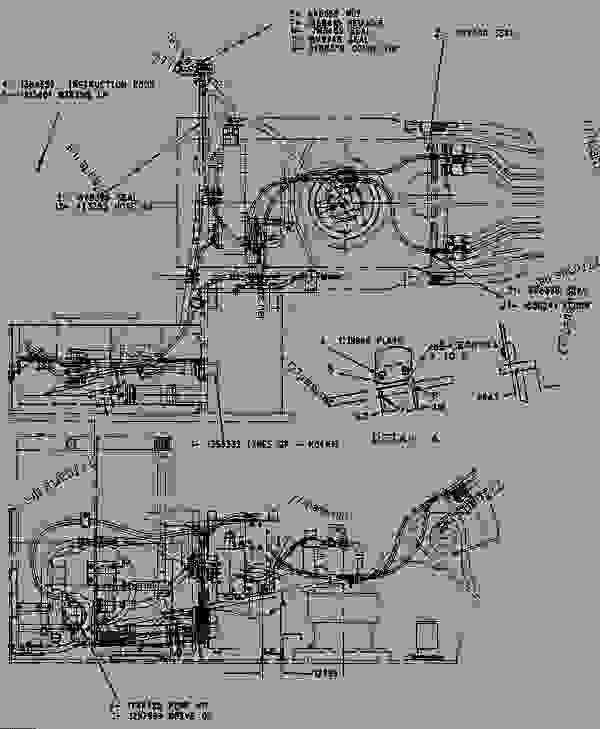 1384664 hydraulic ar - excavator caterpillar 330b