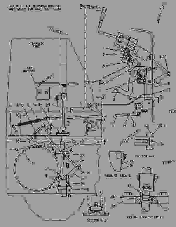 Caterpillar d3c parts manual