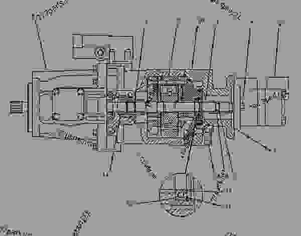 1052140 pump group-piston  u0026 vane