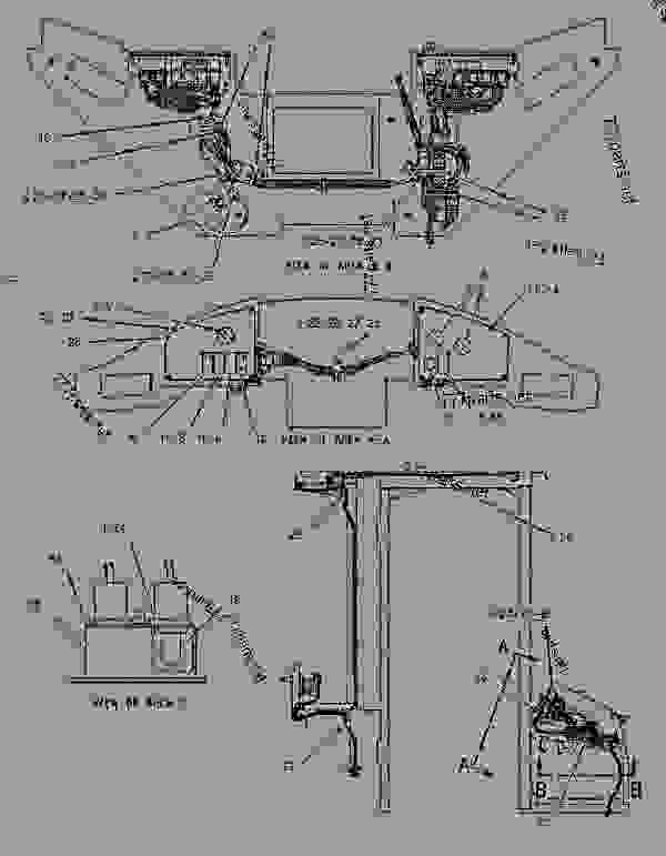 1133641 WIRING GROUP-CAB - INTEGRATED TOOLCARRIER ... on john deere 4030 cab wiring diagram, john deere 4430 cab wiring diagram, john deere wiring harness diagram,