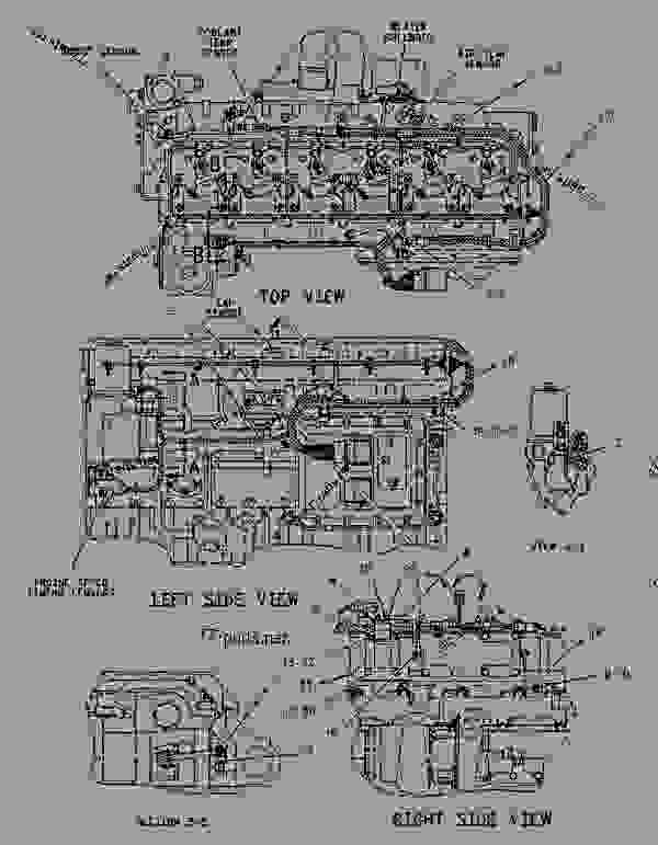 1228946 wiring group-electronic control - engine - industrial caterpillar 3126