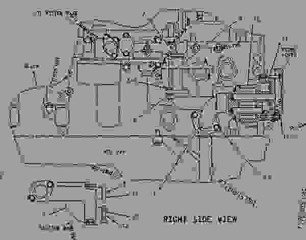 Cat 3176 engine diagram model