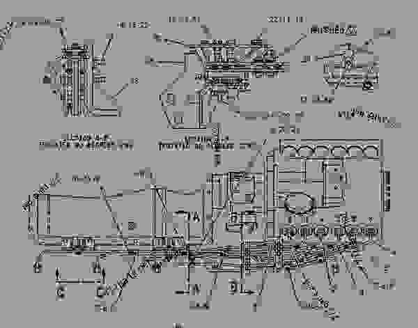 Caterpillar generator parts Manual 3412