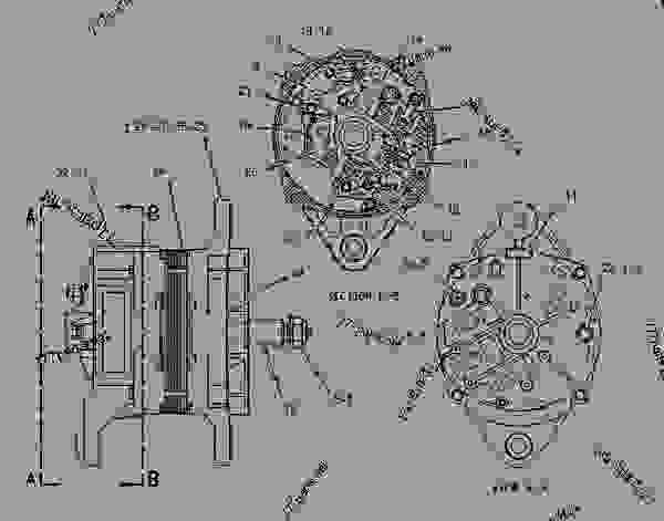 1214134 alternator group charging engine truck. Black Bedroom Furniture Sets. Home Design Ideas