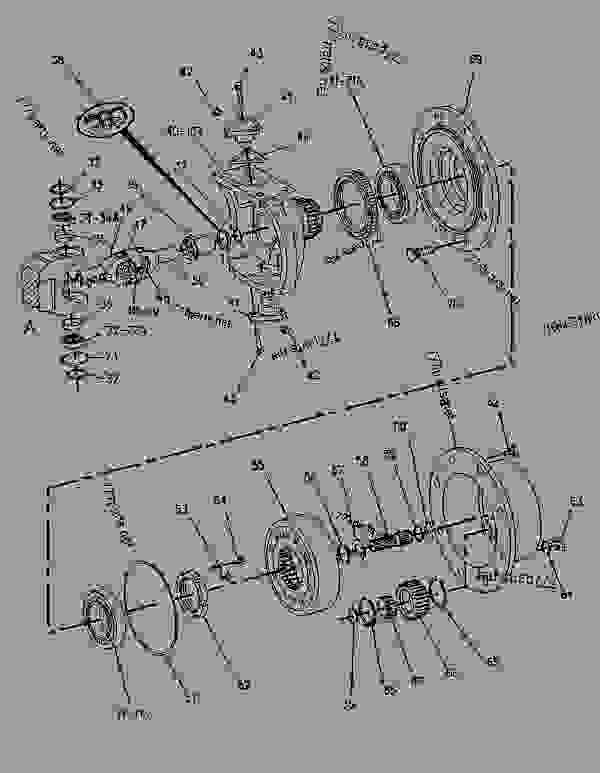Cat 426b backhoe parts manual