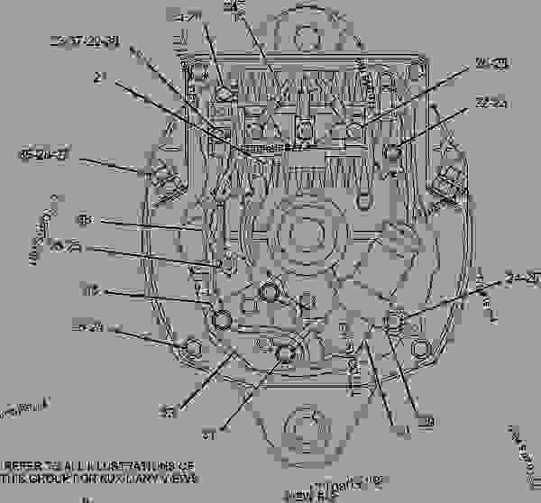 4n3986 alternator group-charging  24-volt  60-ampere  24-volt  60-ampere  - engine