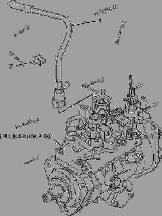Caterpillar Backhoe Parts Diagram : Turbocharger group backhoe loader caterpillar