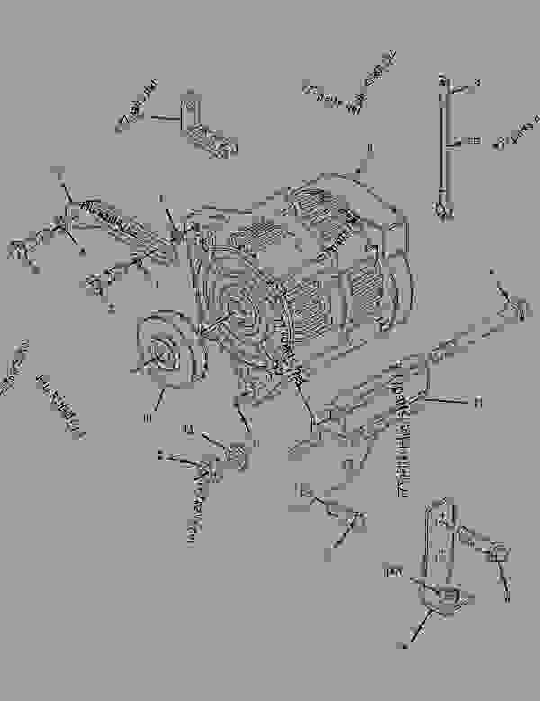 Bobcat backhoe 911 Parts manual