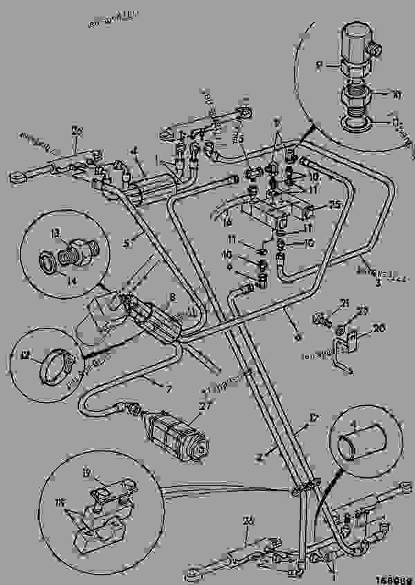 circuit  steering - construction jcb 506-36  7800  m561011