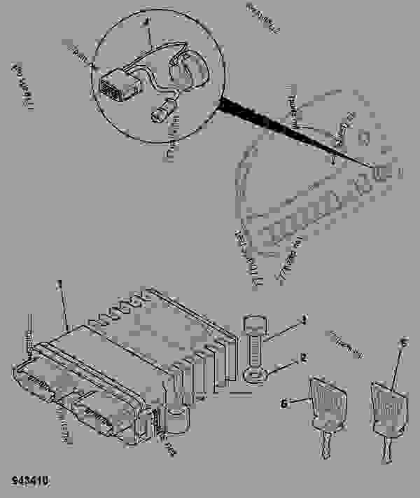 Jcb Midi Cx Compact Backhoe Loader, Jcb Wiring Diagram Key