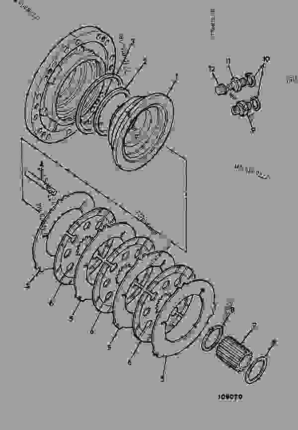 BRAKE, AXLE DRIVE - CONSTRUCTION JCB 930-4 LE - ROUGH
