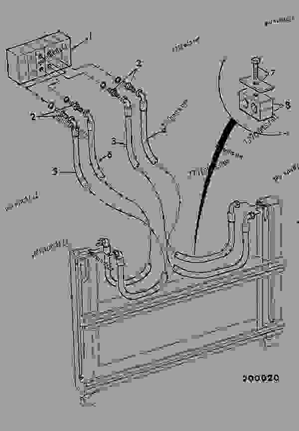 circuit  stabiliser - construction jcb  208s  6220  m751600