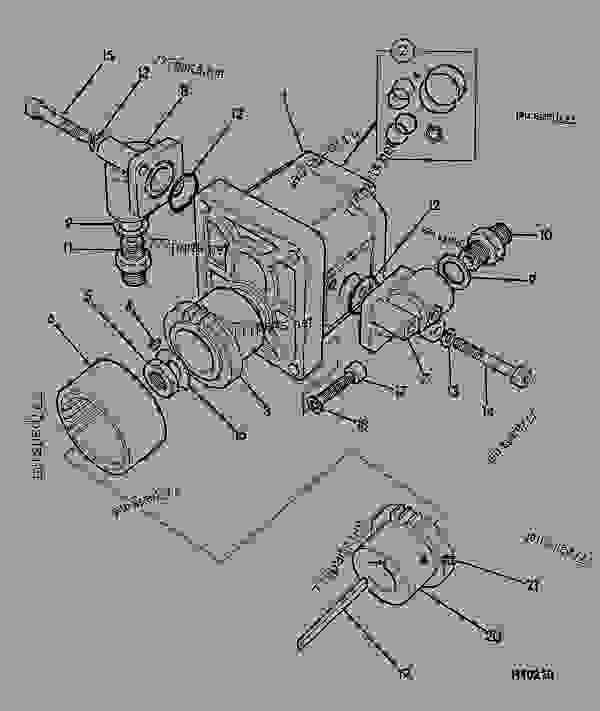 pump hydraulic single jcb light equipment jcb beaver iii rh 777parts net Manual Drill Manual Pump