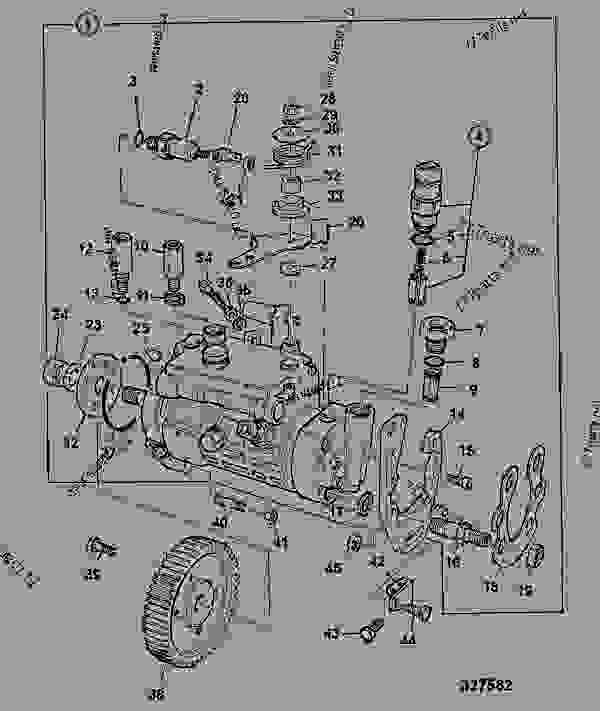 pump  fuel injection  ak build 92bhp - construction jcb 4cx444
