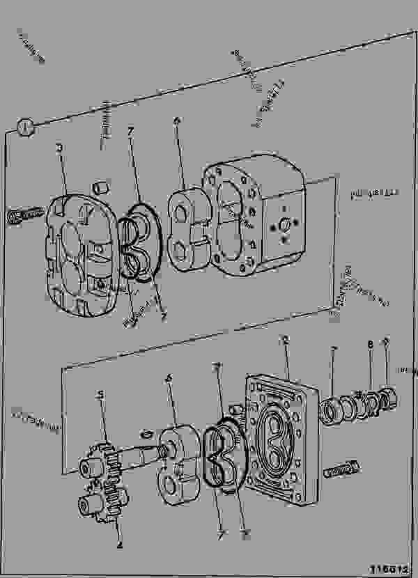 motor  fan drive - construction jcb 505-19 f m  7800  m561011