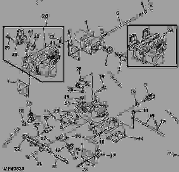 John Deere 620i Gator Manual front Fenders on