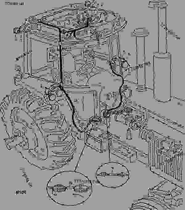 John Deere 4430 Cab Wiring Harness For - Wiring Diagram ... on