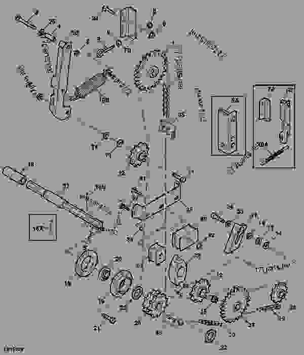 Upper Chain Idler - BALER, ROUND John Deere 568 - BALER
