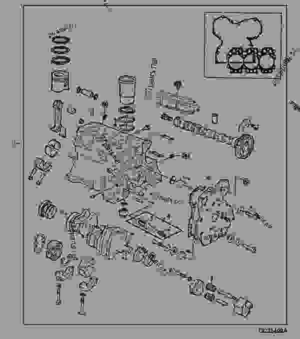John Deere 2150 Wiring Harnes