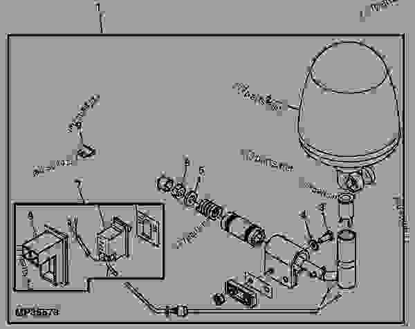 beacon light kit - utility vehicle john deere gator - utility vehicle