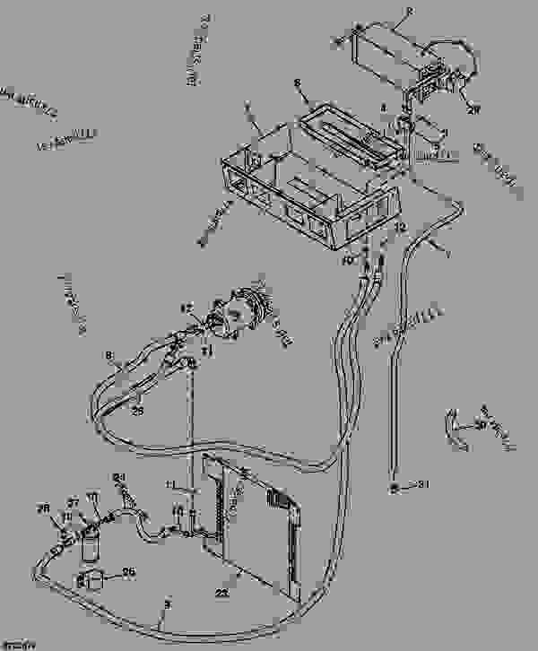 AIR CONDITIONER (A/C OPTION) - LOADER, SKID-STEER John Deere