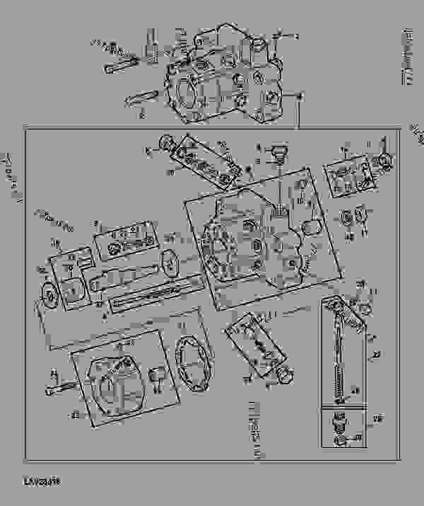 HYDRAULIC PUMP 23 CM3 1 4 IN3 4 TRACTOR John Deere