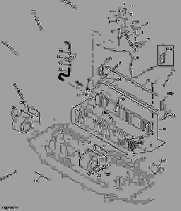 Heater Unit 24 Tractor John Deere 5603 Tractor