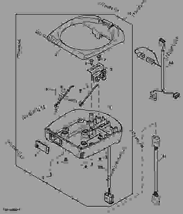 implement receiver bracket  starfire u2122 3000
