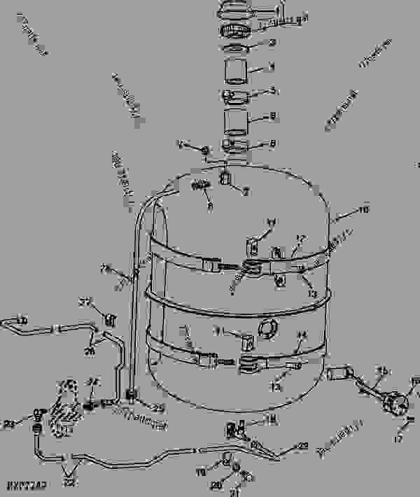 John Deere 3010 Parts Diagram
