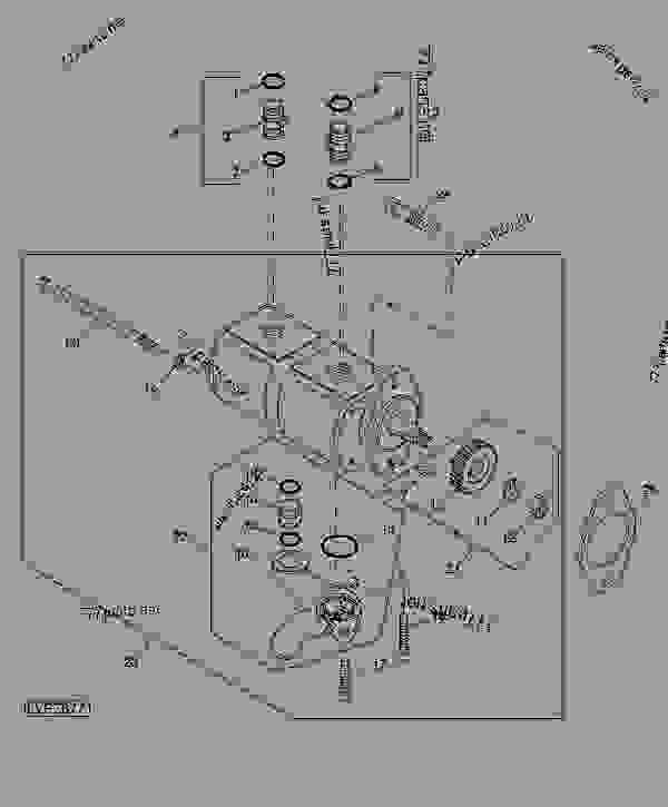 Hydraulic Pump - Tractor John Deere 5083e