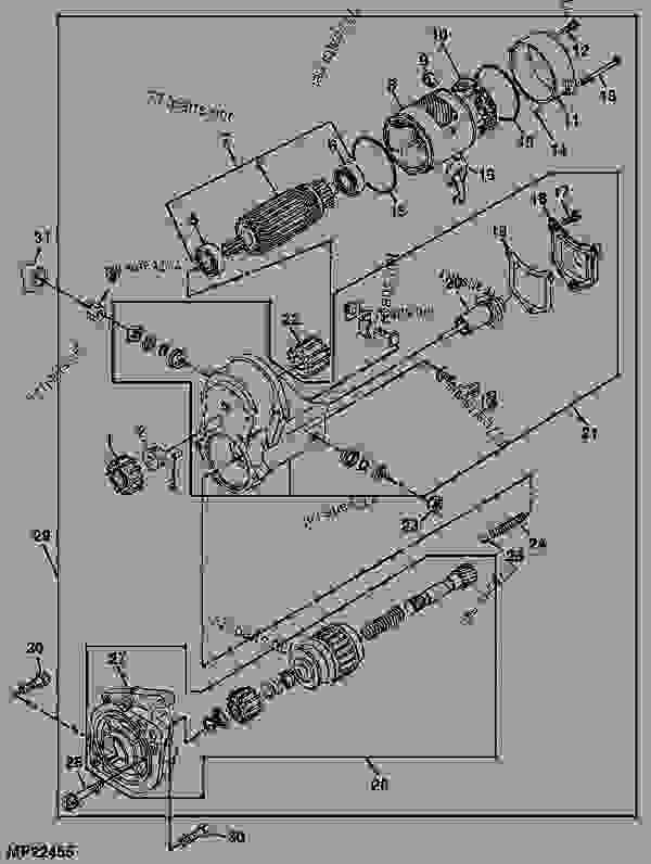 STARTER - TRACTOR, COMPACT UTILITY John Deere 4600 - TRACTOR ... on john deere 4600 parts diagram, john deere 4600 manual, john deere 4600 neutral safety switch, john deere ignition switch diagram, ford 4600 wiring diagram, john deere 4600 oil filter, john deere 4600 fuse box, john deere m127452, john deere 460, john deere 4600 brochure, john deere tractor specs, john deere 4600 interlock wiring, john deere 4600 tractor, john deere 4600 crankshaft,