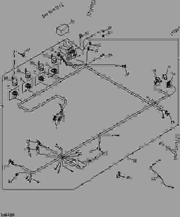 WIRING HARNESS (ENGINE) (HIGH-FLOW) - LOADER, SKID-STEER ... on john deere lt155 wiring-diagram, john deere 145 wiring-diagram, john deere 133 wiring-diagram, john deere lawn tractor diagrams, john deere 420 wiring-diagram, john deere 240 engine, john deere model 240 wiring, john deere 4430 parts diagram, john deere 455 wiring-diagram, john deere lx255 wiring-diagram, john deere 240 parts, john deere 320 wiring-diagram, john deere 155c wiring-diagram, john deere 320 parts diagram, john deere 240 tractor, john deere electrical diagrams, john deere 112 wiring-diagram, john deere 425 engine diagrams, john deere z225 wiring-diagram, john deere 240 specifications,