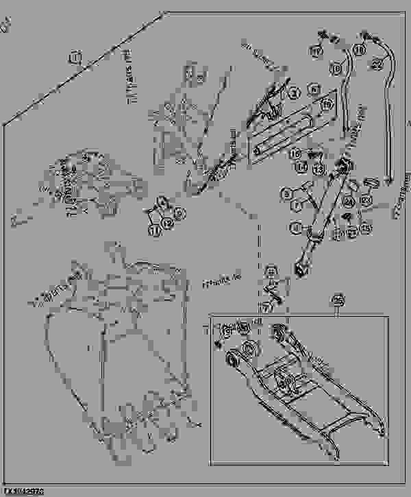 HYDRAULIC BUCKET CLAMP EXCAVATOR John Deere 35D