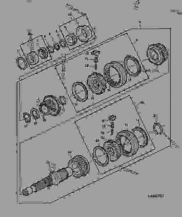 Transmission Drive Shaft And Synchronizing Parts  46