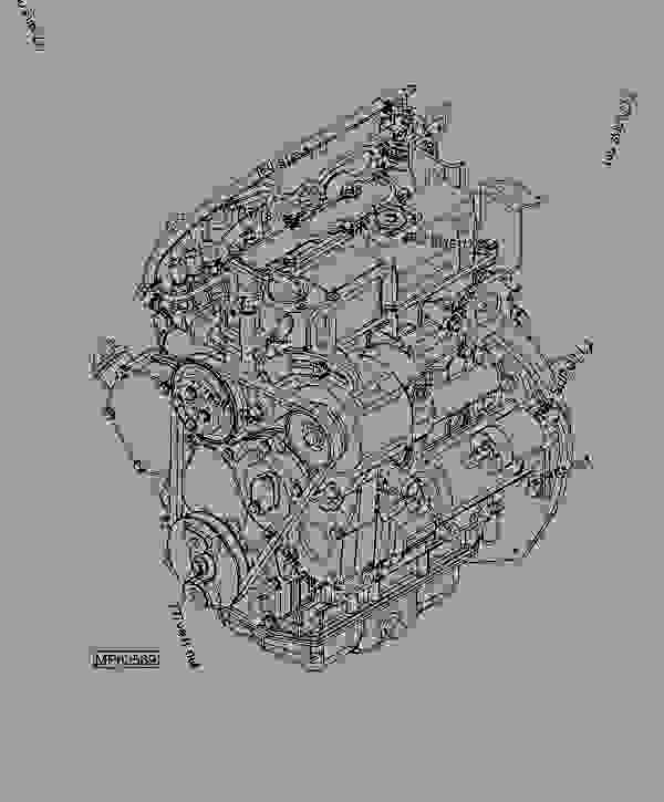 Engine - Progator John Deere 2030a - Progator
