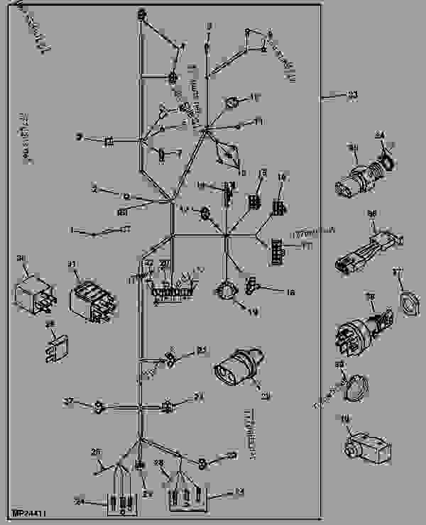 John Deere 4200 Wiring Harness Wiring Diagram