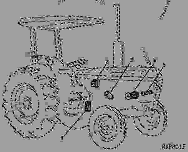 filters  01d02  - tractor john deere 2240 - tractor