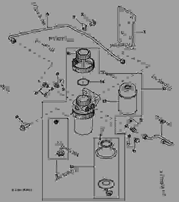 35ff fuel filter - tractor john deere 5085m
