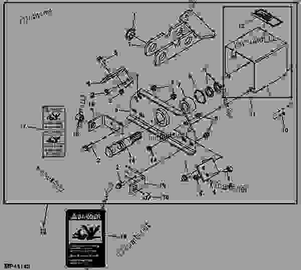 ATTACHING PARTS KIT (AUTO HITCH PTO COUPLER) (MX6) - TILLER