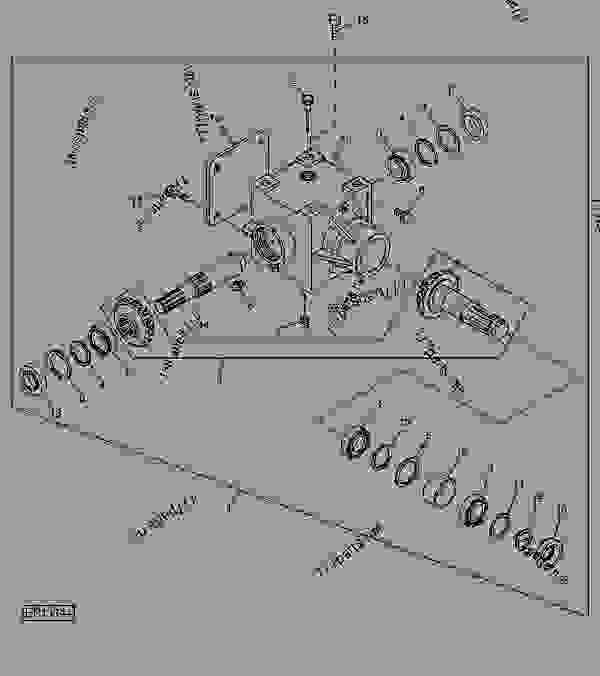 Gear Case - BALER, ROUND John Deere 567 - BALER, ROUND - 467