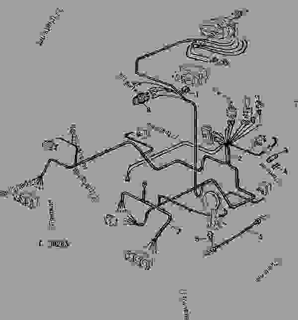 Wiring Harness-operator U0026 39 S Cab  01j07