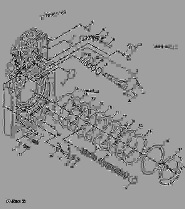 transmission case rear cover