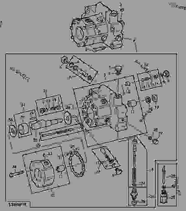 hydraulic pump  12cm3 0 7 cu in    4
